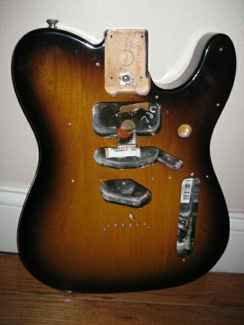 Fender American Two Tone Sunburst Telecaster Body
