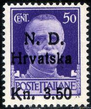 Occupazione Croata - Sebenico 1944 n. 5 ** (m1911)