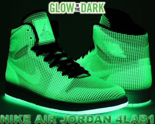 3 Jordan Alto m Glow Retro negro Nike 4lab1 1 Plateado In Og 5 blanco 10 Hola Air Dark FqpS6YA