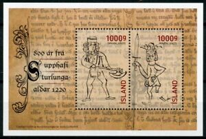 Iceland-Historical-Events-Stamps-2020-MNH-Age-of-Sturlungs-Era-800-Years-1v-M-S