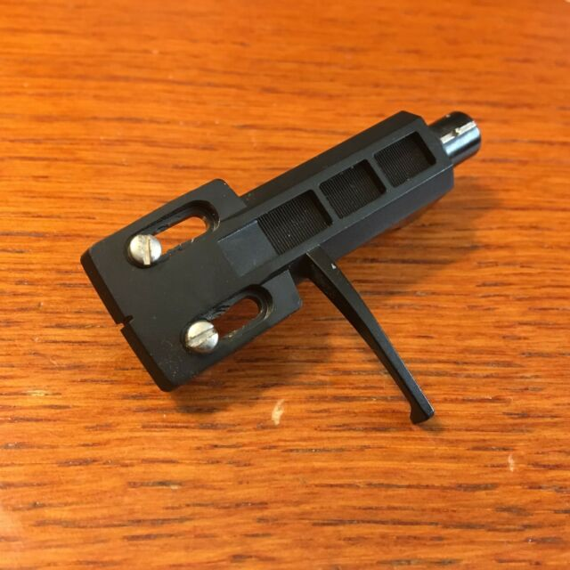 Technics Turntable Parts - Tone Arm Head Shell (Black) w/ Hardware & Wires