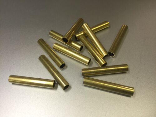 "For Player Piano Repair//Restoration 12 Pcs Brass Tubing 1.25/"" Long 7//32/"" OD"