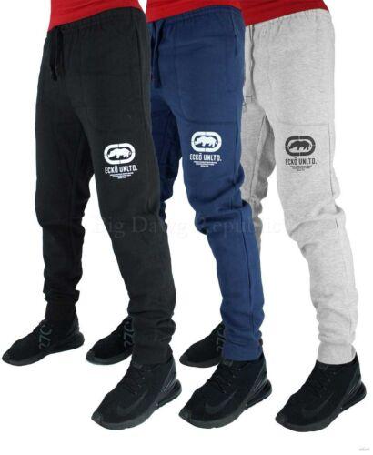 Ecko Men/'s Designer Fleece Jog Pants Tracksuit New Hip Hop Star Era G Bottoms