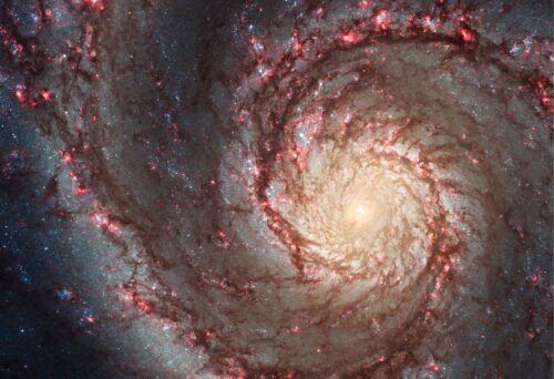 M51 Galaxy Fine Art Print