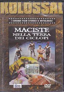 Dvd-MACISTE-NELLA-TERRA-DEI-CICLOPI-nuovo-1961