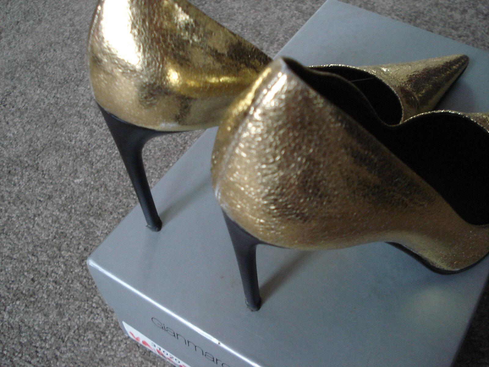 Pumps von von von GIANMARCO LORENZI, 37, gold, RAR 8260dd