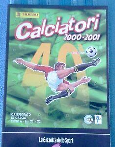 CALCIATORI-2000-2001-2005-ALBUM-PANINI-RISTAMPA-LA-GAZZETTA-DELLO-SPORT