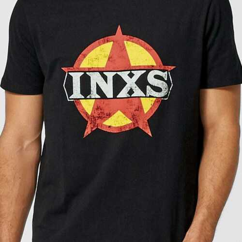 INXS Black T Shirt New with tags free post various sizes