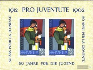 Schweiz-Block18-kompl-Ausgabe-gestempelt-1962-Pro-Juventute