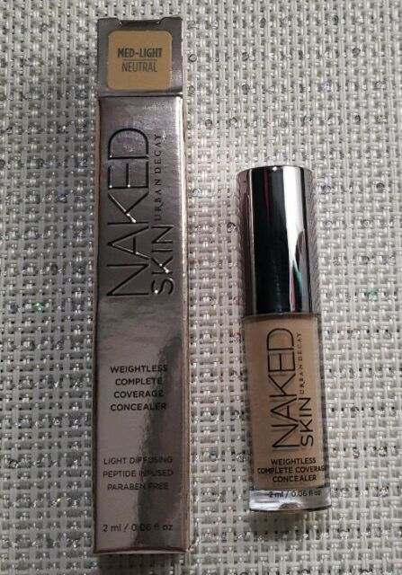 Urban Decay Naked Skin Concealer Swatches & Before / After