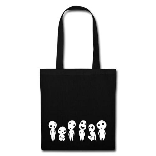 Kodama forest spirit Studio Ghibli Anime Animation Inspired Tote Bag