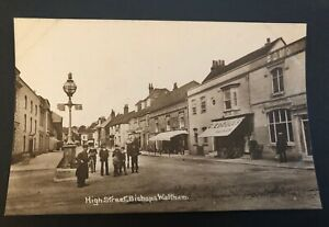 Postcard, High Street, Bishops Waltham, Hampshire