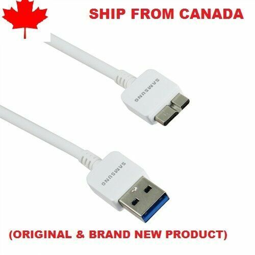 SAMSUNG GALAXY MICRO USB 3.0 SYNC DATA CHARGING CABLE ET-DQ11Y1WE WHITE