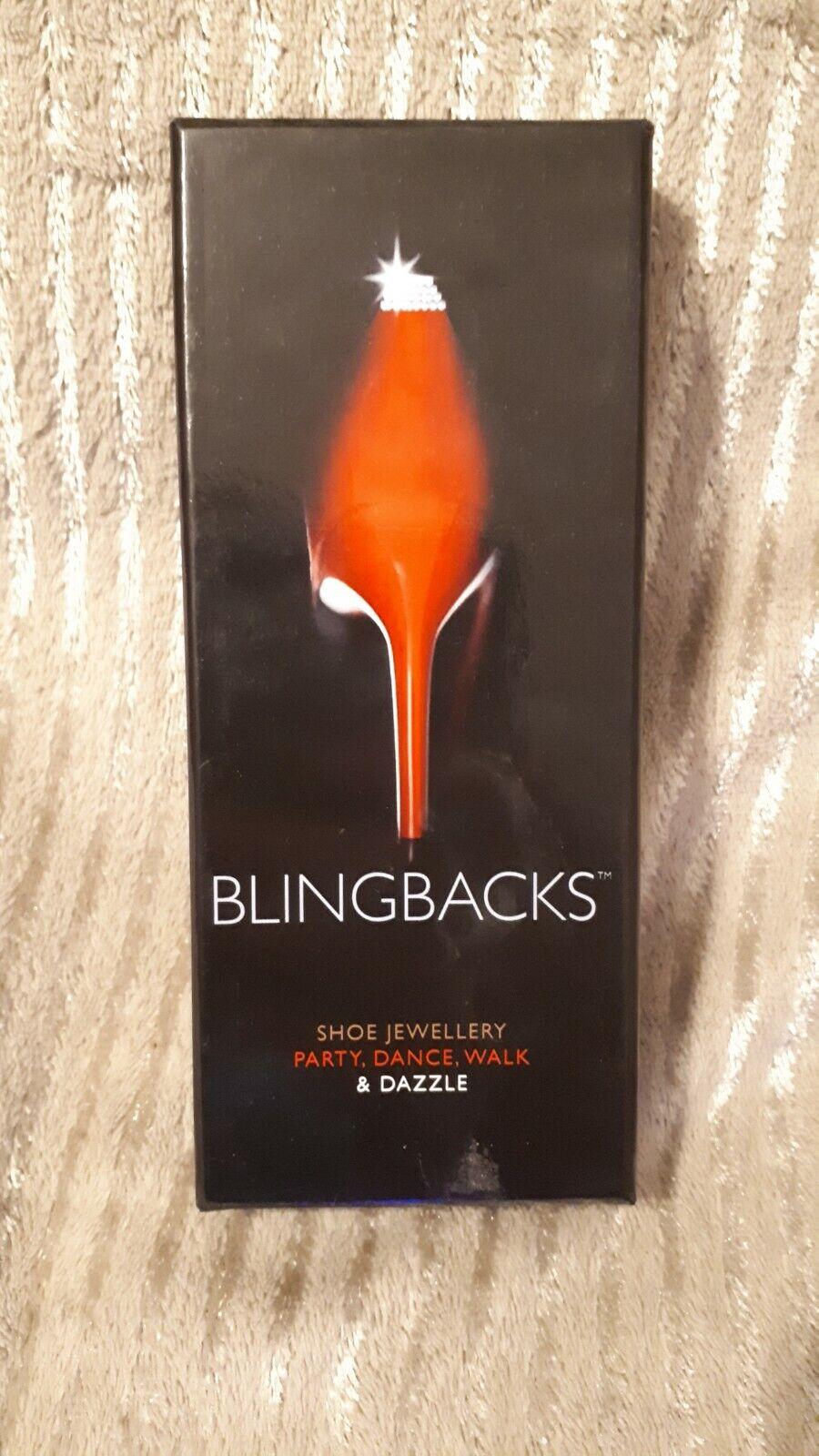 Blingbacks Shoe Jewellery Diamante Chandelier
