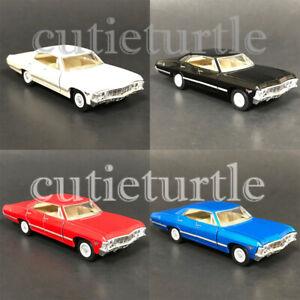 Kinsmart-1967-Chevrolet-Impala-1-43-Diecast-Display-Model-Toy-Car-KT5418D