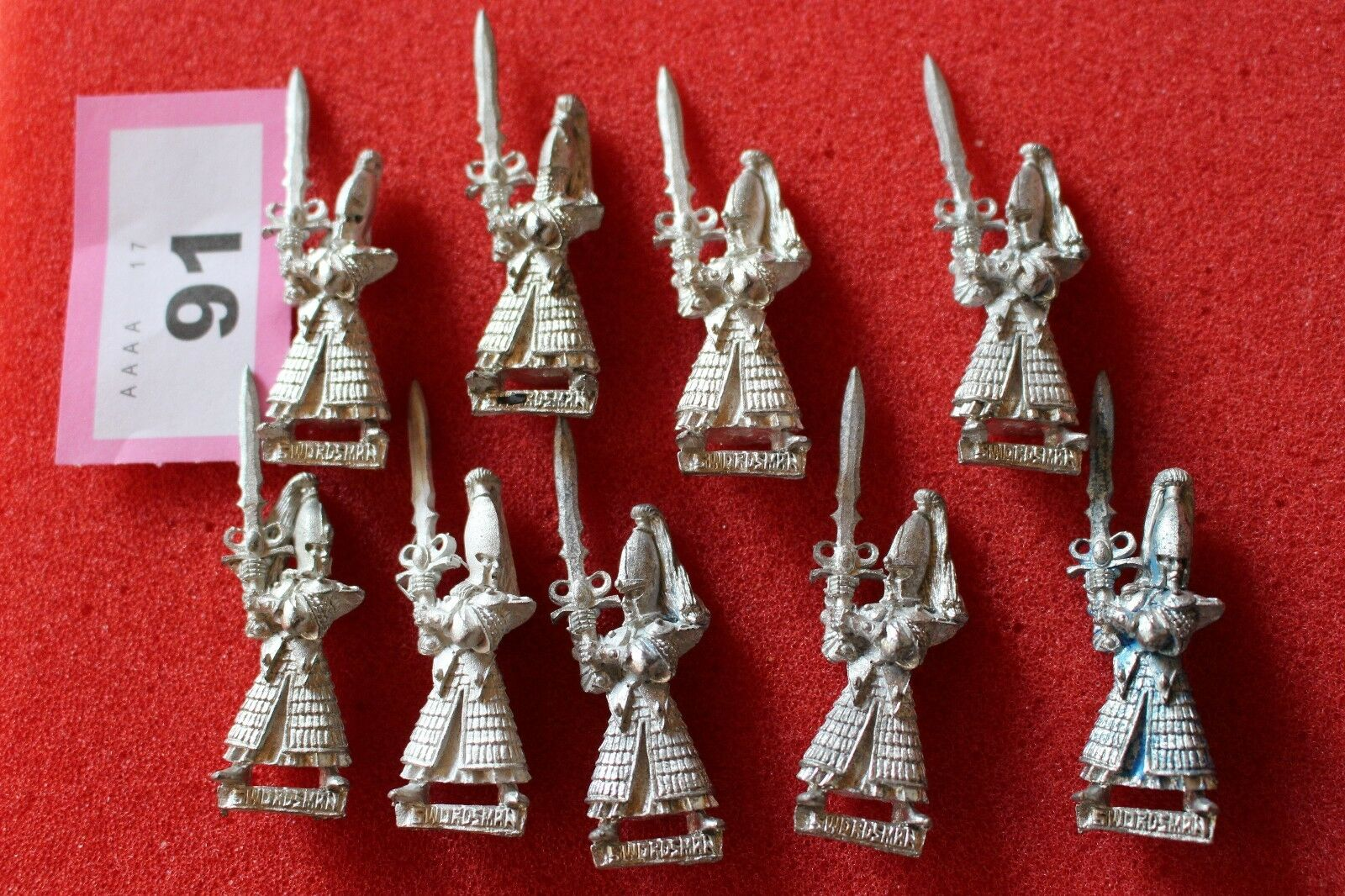 Games Workshop Warhammer High Elf Swordmasters Warriors Regiment Miniatures Army