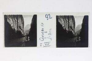 Suisse Gorges Da L Anr Foto Stereo T2L9n64 Placca Da Lente Vintage