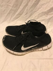 new style 7a181 c109e Image is loading NEW-NIKE-FREE-FLYKNIT-5-0-BLACK-WHITE-