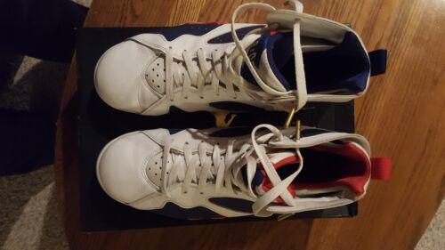 Olímpico Sz 7 Alterno Tinker Jordan Rojo Air Azul Retro Blanco Nike 304775 123 11 7YBIwx