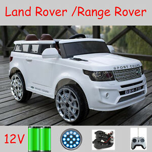 Best Children Electric Toy Ride On Car Range Rover Sport Coupe 12v 2 Motors W Rc Ebay