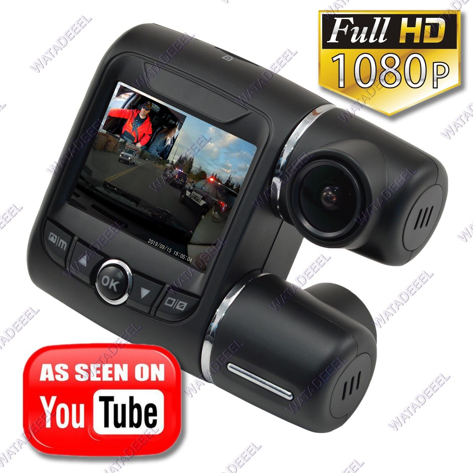 s-l1600 THE BEAST II 2019 Dual Lens 1080p Car Dash Camera DVR - See Demo Video Here!