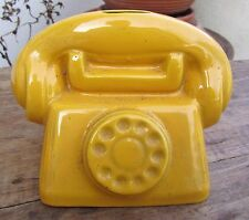 ANCIENNE TIRELIRE A CASSER TELEPHONE