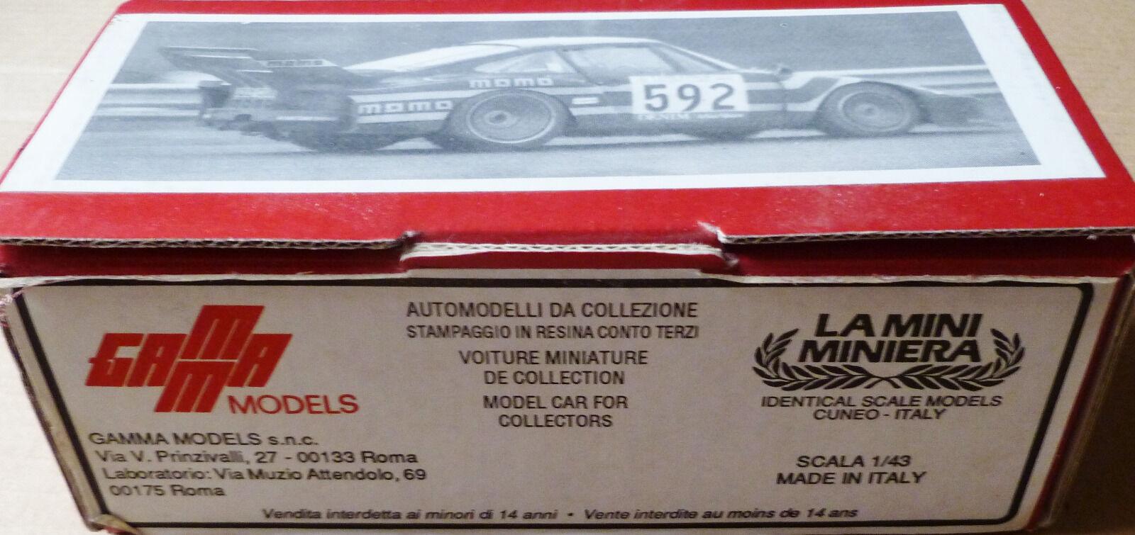 PORSCHE 935- MOMO- 1GIRO D´ ITALIA 1979 -GAMA 1 43