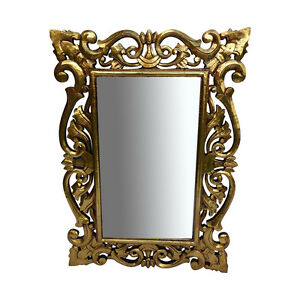 Gold-Antique-Style-Wood-Mirror