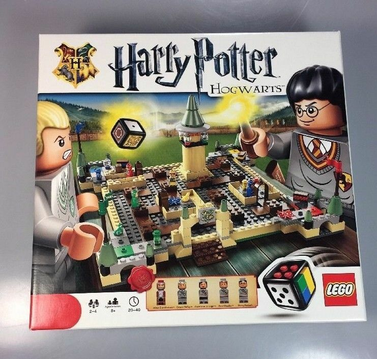 LEGO Games 3862  Harry Potter Hogwarts COMPLETE   gently used & well organized