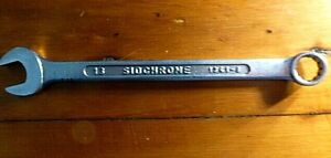 SIDCHROME-Vintage-034-COMBINATION-SPANNER-034-13-mm-LONG-series-MADE-in-AUSTRALIA