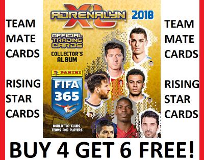 Adrenalyn XL Fifa 365 2020 Schalke 04 Complet 18 Carte Team Set Inc 6 fans cartes