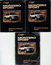 99 mitsubishi montero sport owners manual 1999 ebay rh ebay com 1999 mitsubishi montero sport owners manual pdf 1999 mitsubishi pajero sport service manual.pdf