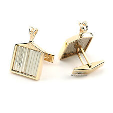 Rolls Royce Solid 18k White/Yellow Gold Cufflinks - One of a Kind Creation!!