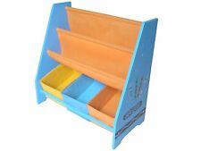 Item 1 Kiddi Style Wooden Childrens Kids Sling Bookshelf Rack Toy Chests Storage Bins