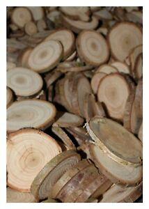 50-5-gratis-2-5-cm-Astscheiben-Baumscheiben-Holzscheiben-Deko-basteln
