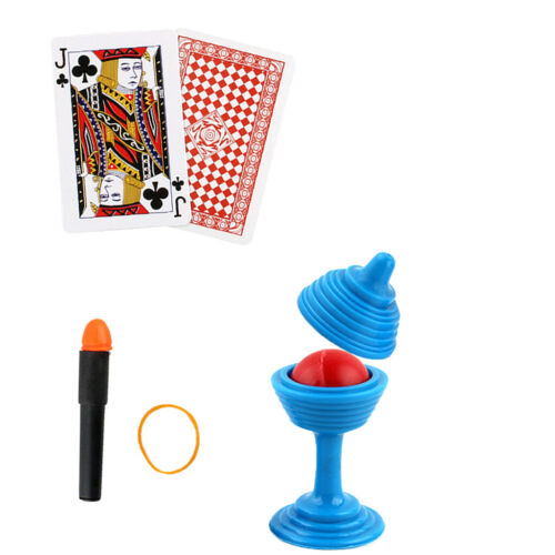 Novel Magic Tricks Toy Kids Props Gag Prank Toy Learning Supplies Over 15 tricks