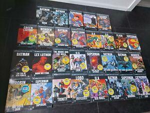 DC Comics Graphic Novel Collection Eaglemoss 1-29 Folie OVP Batman Flash Neu