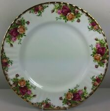 ROYAL ALBERT OLD COUNTRY ROSES DINNER PLATE (PERFECT).