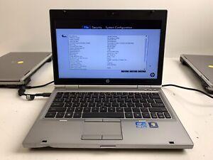 HP EliteBook 2560p 12.5in. Core i5-2540M @ 2.60GHz | 4GB RAM | NO HDD | #523