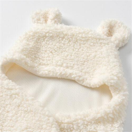 Baby Newborn Soft Fleece Blankets Boys Girls Swaddle Wrap Pram Sleeping Bag ONE