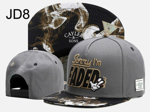 Casual Men CAYLER AND SONS Snapback Adjustable Baseball Cap Hip hop GIFT SUN Hat