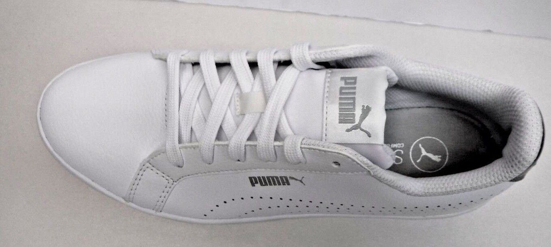 Puma Leather Size 7 White Leather Puma Sneakers New Womens Shoes b8e311
