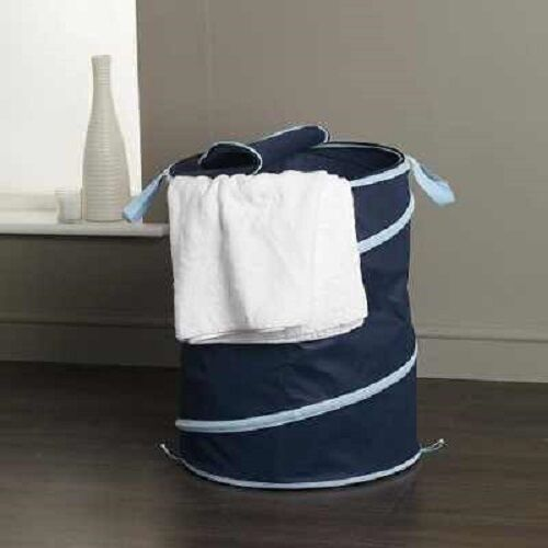 LARGE POP UP LAUNDRY CLOTHES WASH TOY STORAGE HAMPER BIN BAG LINEN BASKET STRONG