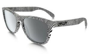 Oakley-FROGSKINS-9013-52-Color-lente-negro-Color-montura-blanco-Lentes