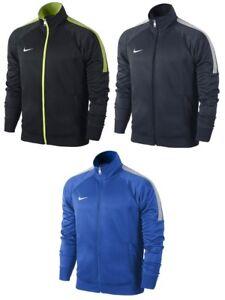 Détails sur New Men's Nike Tracksuit Track Jacket Coat black, navy & Blue afficher le titre d'origine