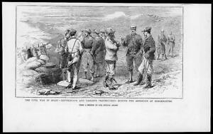 1874-Antique-Print-SPAIN-CARLIST-WAR-ARMISTICE-SOMORROSTRO-REPUBLICANS-004