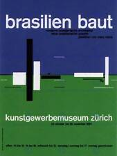 ADVERT EXHIBITION CULTURAL ARCHITECTURE SWITZERLAND POSTER BB2254B
