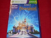 Disneyland Adventures Xbox 360 Kinect Factory Sealed Cl Ships Fast