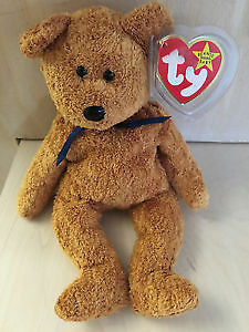 a79662a6b34 Image is loading Fuzz-beanie-baby-Rare-Original-with-tag-errors