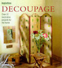 Decoupage: Over 20 Decorative Projects for the Home by Josephine Whitfield (Hardback, 1998)